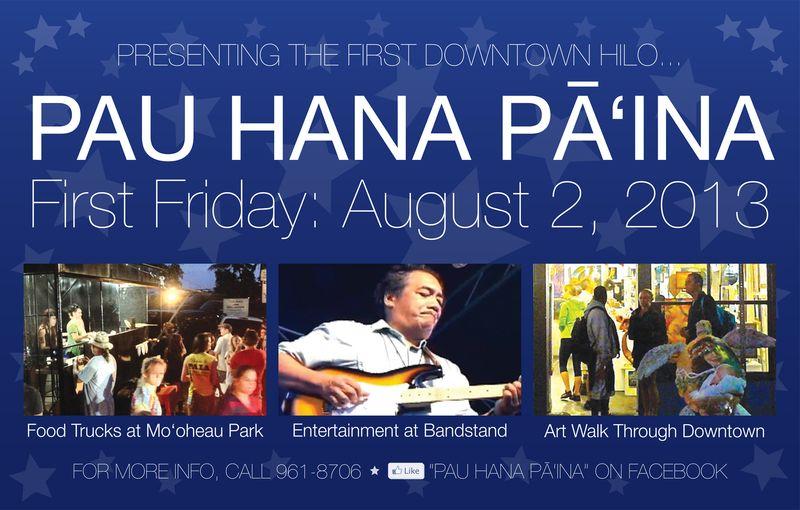 Pau Hana Pa'ina flyer