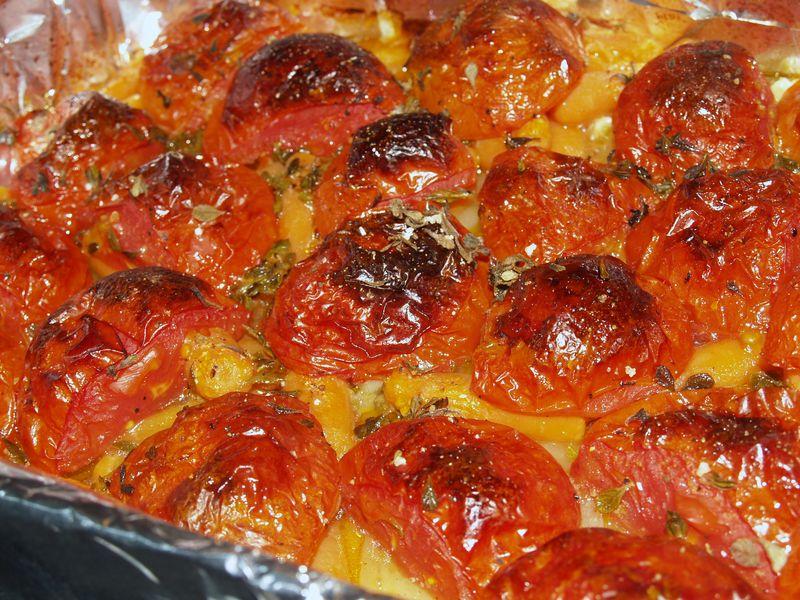 Roasted Tomato Sauce - Roasted