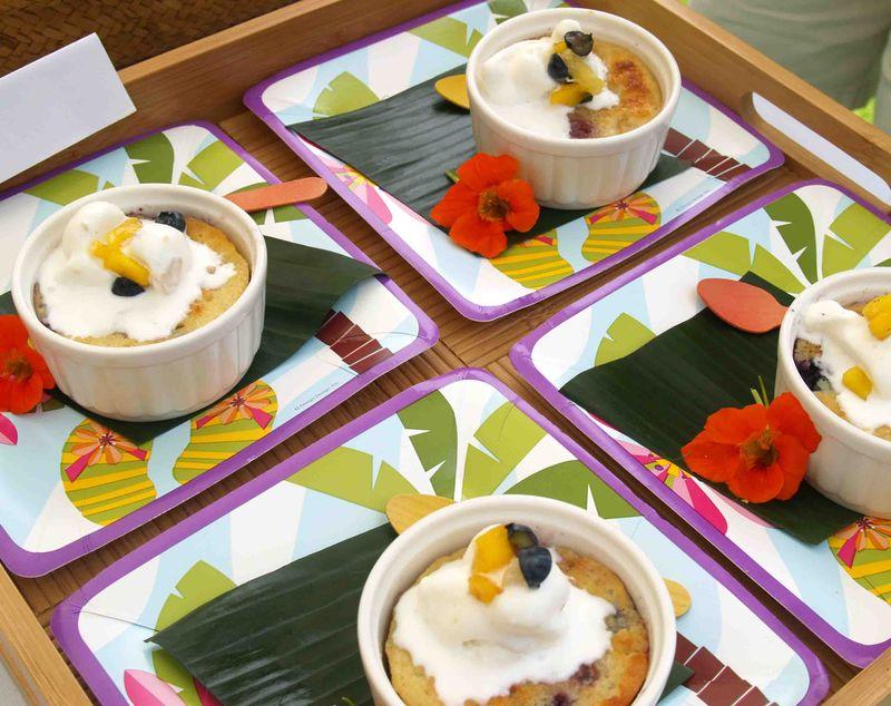 Mango Fest - Dessert Clafoutis 1