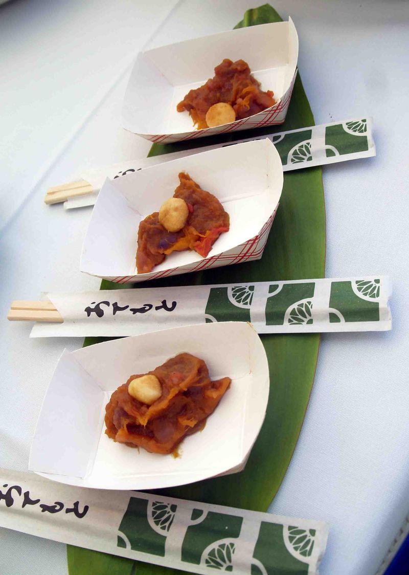 Mango Fest - Salad-Side Dish Mango Passion Fruit Yams
