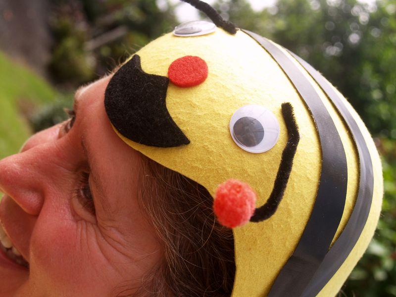 Bee in her bonnet 1