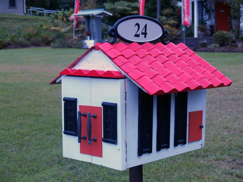 Mail Box - Temple