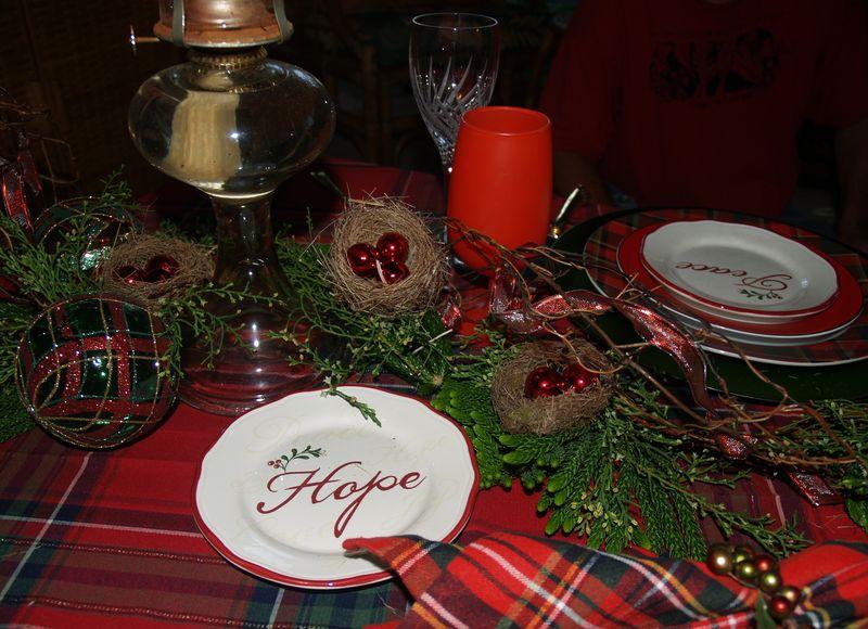 Christmas 2013 - Table detail 2