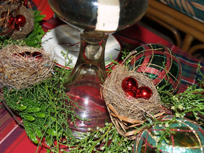 Christmas 2013 - Table detail 1