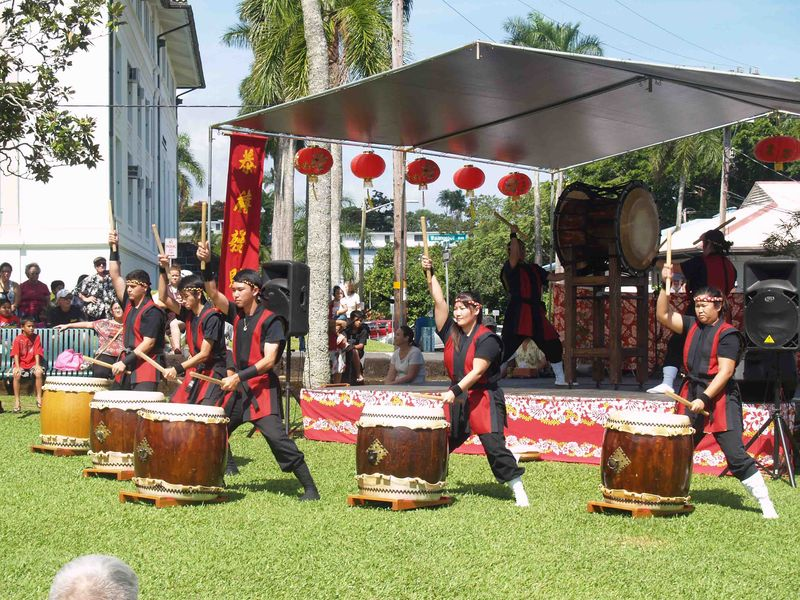 CNY 2014 - Taiko drummers