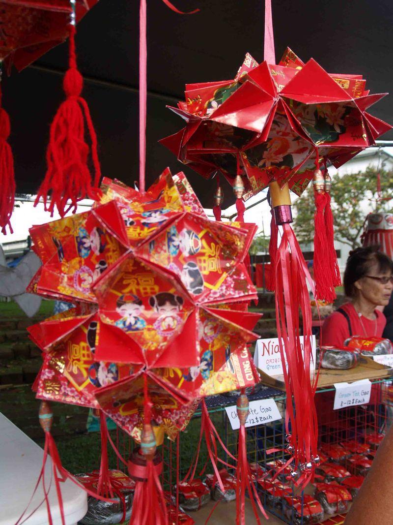 CNY 2014 - Hanging decorations