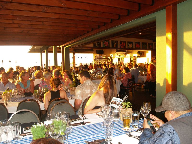 Rancher's Dinner - 1 - part of the capacity crowd