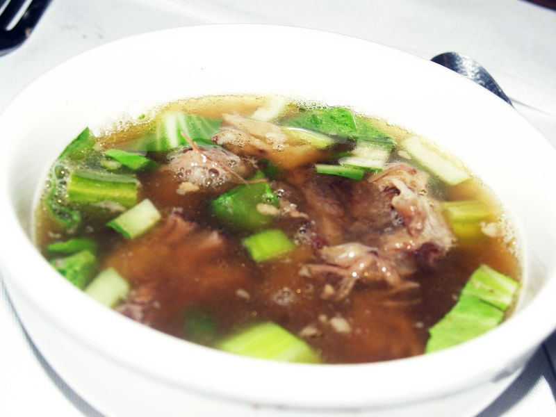 Rancher's Dinner - 7 - Course 3 - Local Style Oxtail Soup