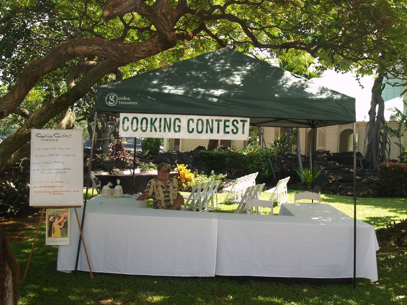 6th Mango Fest - Cooking contest site 1