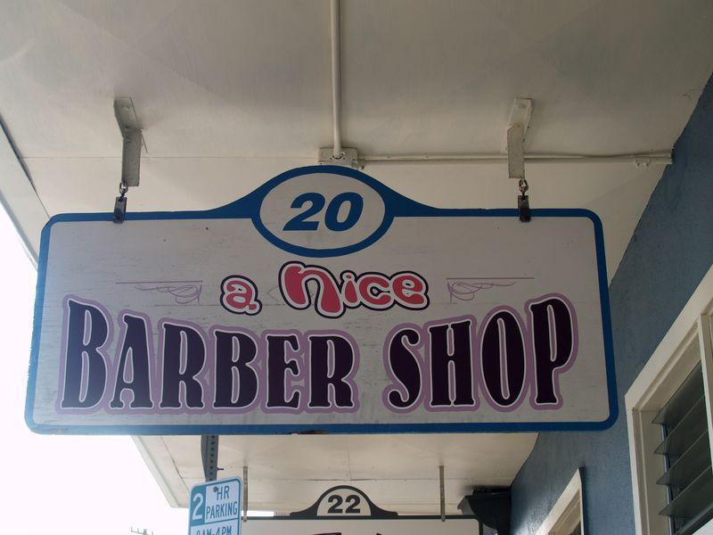 Furneaux Lane - a Nice Barbershop