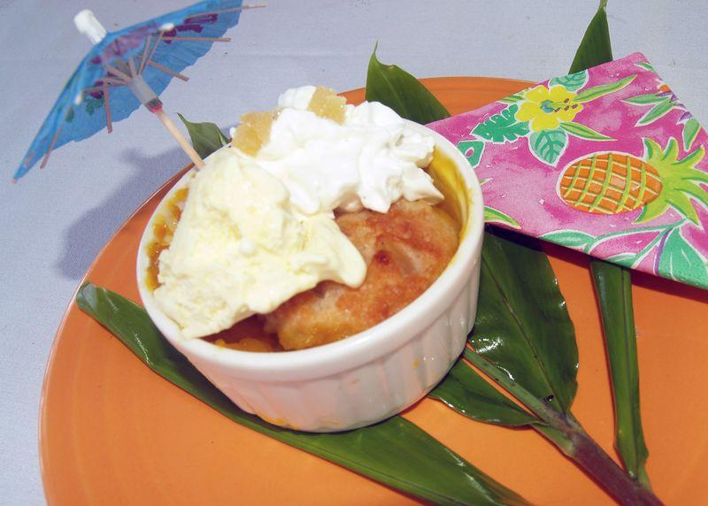 6th Mango Fest - CC - Mango Cobbler