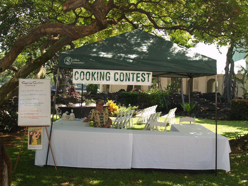 6th Mango Fest - Cooking contest site 1