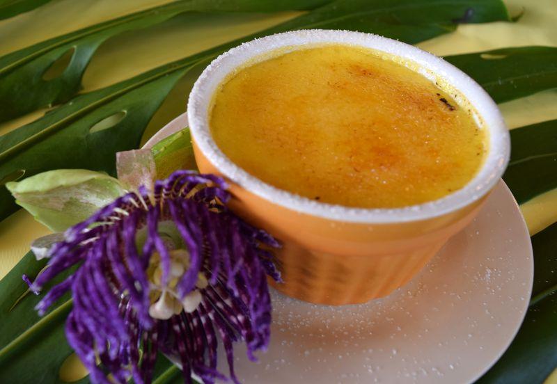 Lilikoi Fest 14 - Dessert - Lilikoi Creme Brulee - Judges presentation