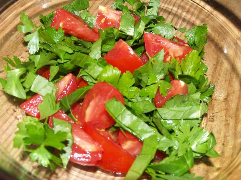 Pig trough planter  - salad