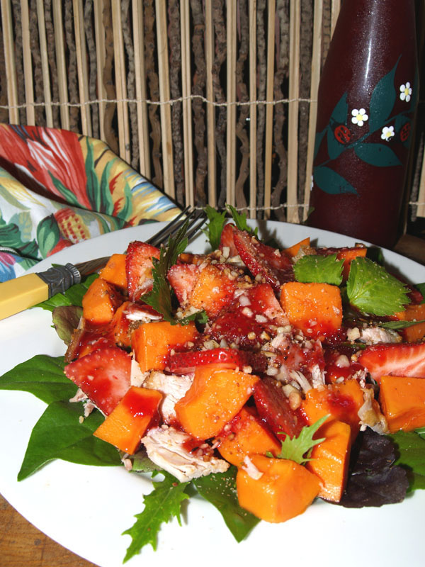 Chicken & Papaya Salad - 6 jpg