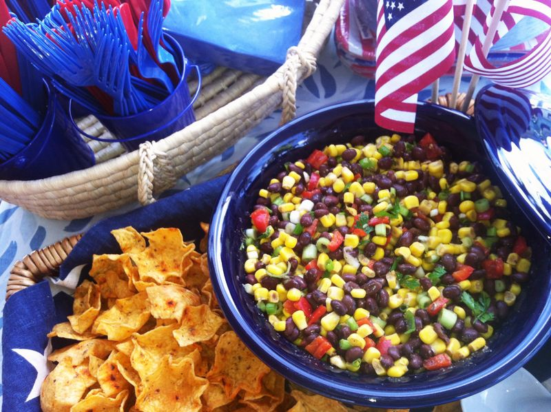 Sides - Black Beans & Corn Salsa or dip 2