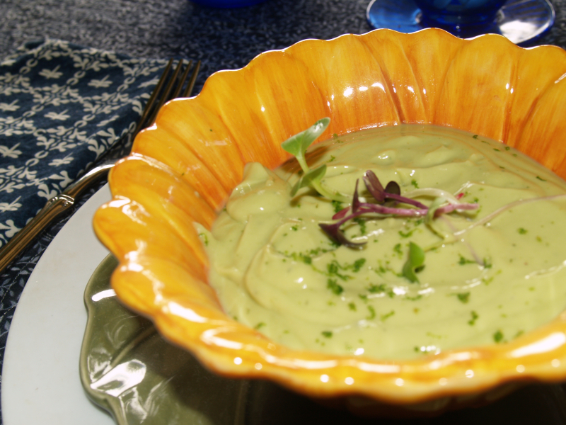 Soups - Chilled Avocado Cream