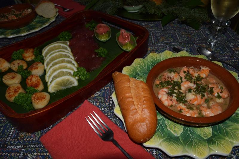 NY 16 - dinner 1