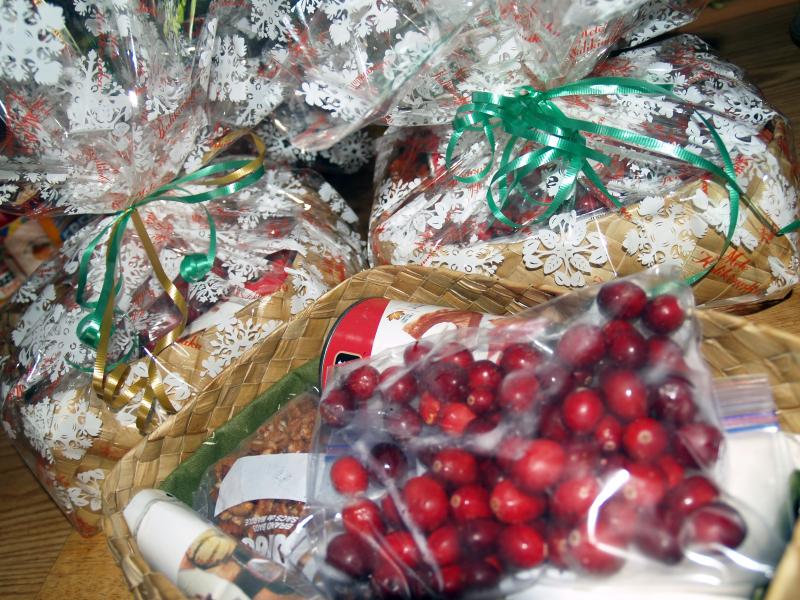 Christmas 2013 - gift baskets
