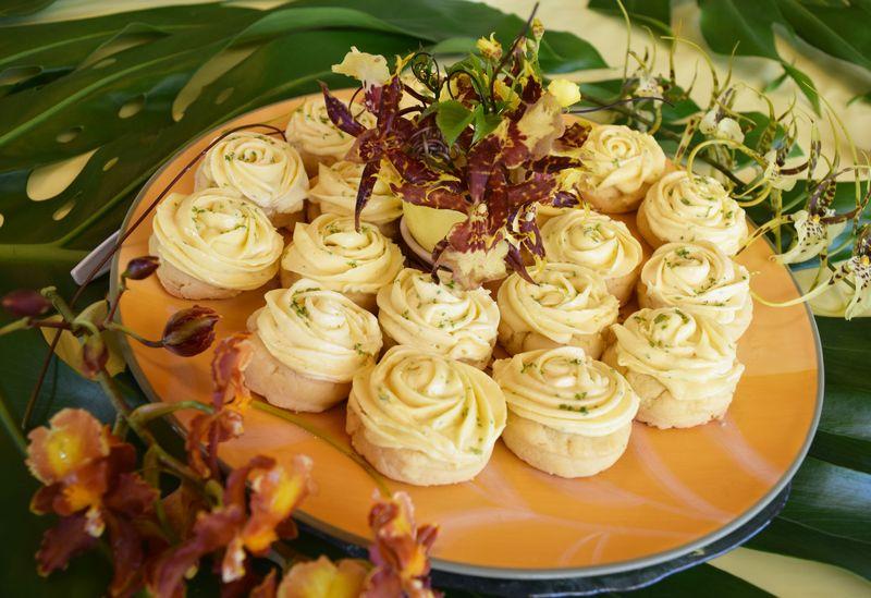 Lilikoi Fest 14 - Dessert - Frosted Lilikoi Cookies