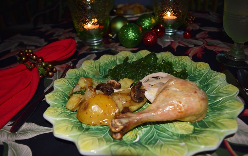 XMAS 14 - Roasted chicken 2