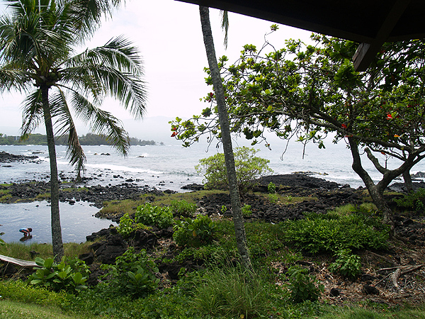 BD Luau - view towards Hilo