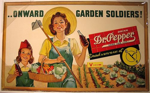 V Garden soldiers