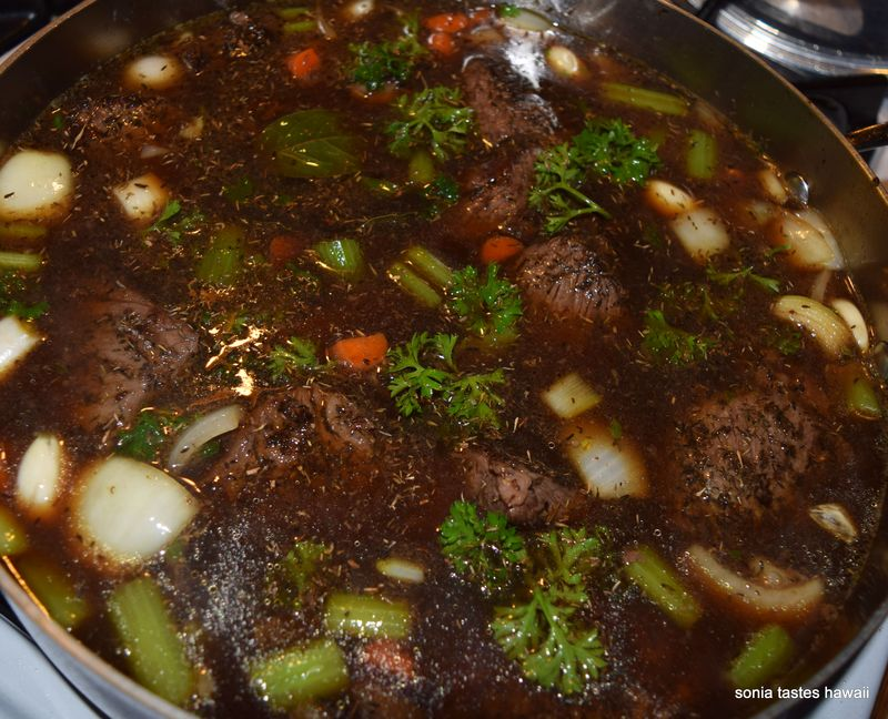 Braised short ribs - before oven time