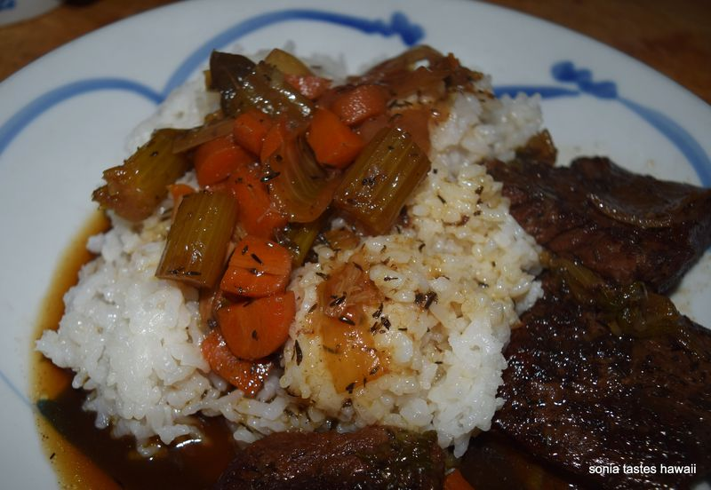 Braised short ribs - plate