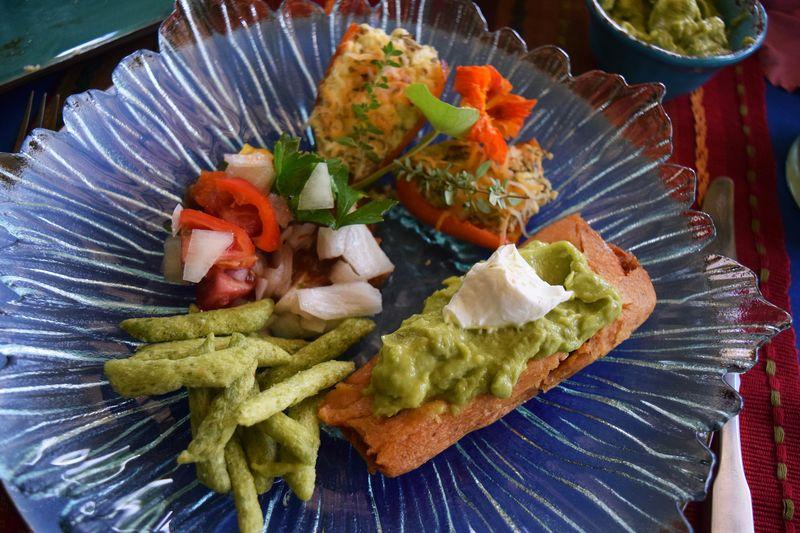 Cinco - served plate - sm