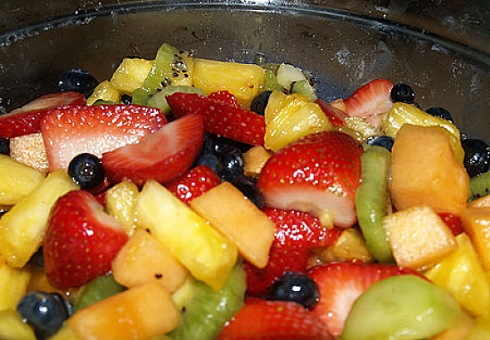 Very Vanilla Fruit Salad - mix