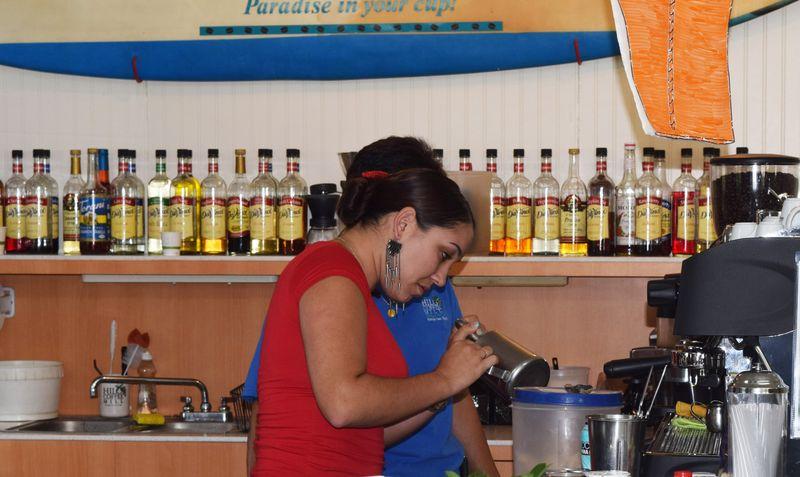 HCM - making a cafecito sm