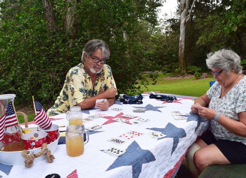 7-5 - Kalopa picnic - cards 2 sm