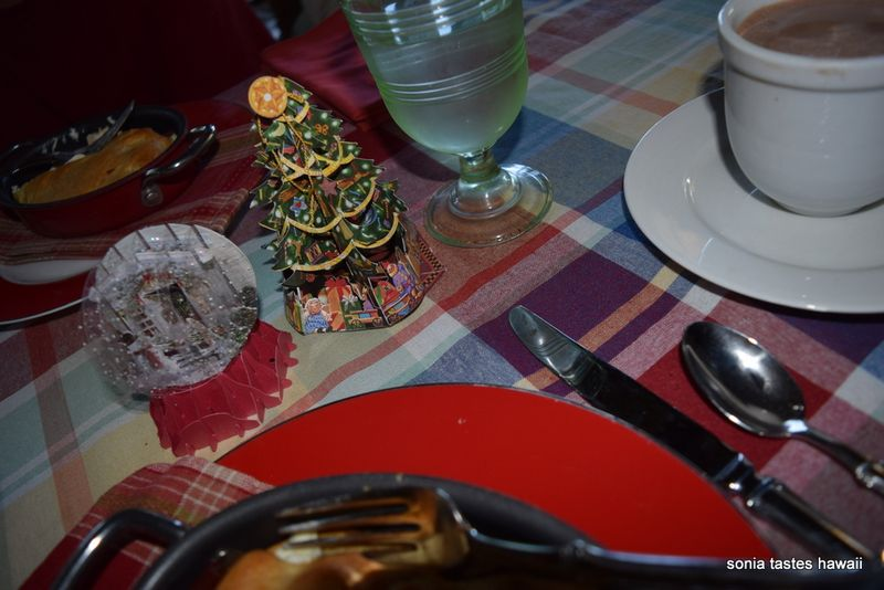 Christmas Day breakfast 2