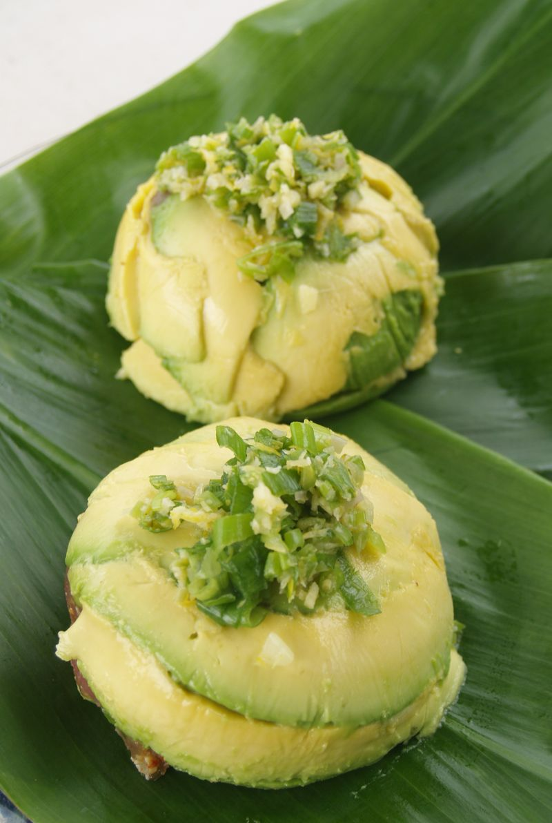 Avo fest - avocado-poke mold - winning recipe