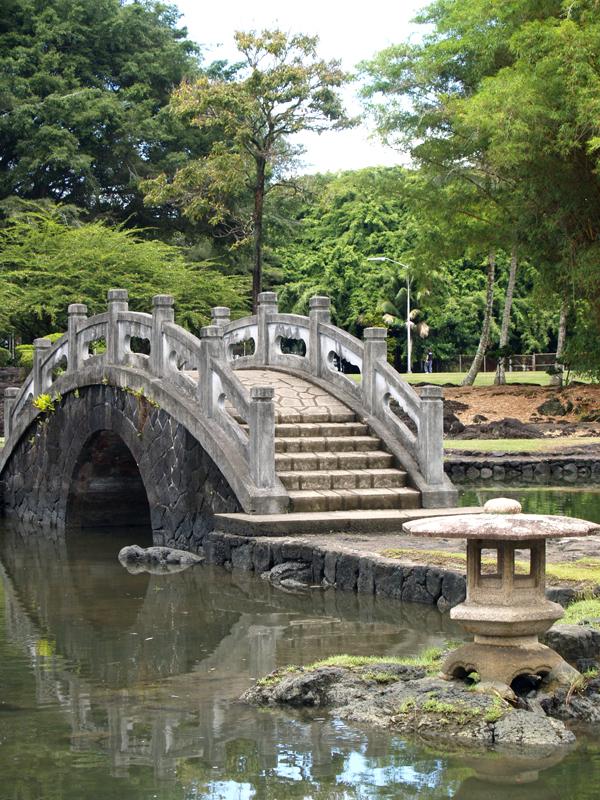 Liliuokalani Gardens - Curved Bridge 6