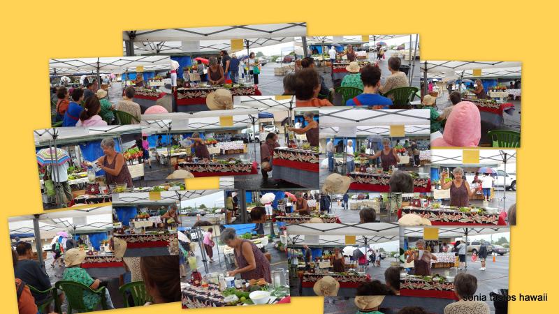 Kinoole Market - avocado demo - 8-13-16