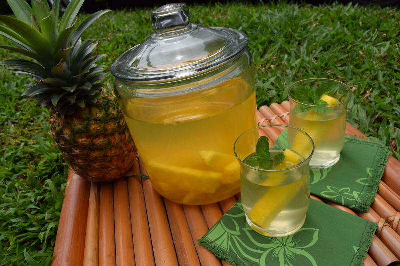 Beverages - Pineapple Agua Fresca 2