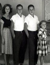 Sonia, Tony, Tomy & Sandra  Fall 1952