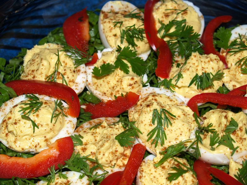 Kolekole Epicurians - Brenda's Deviled Eggs