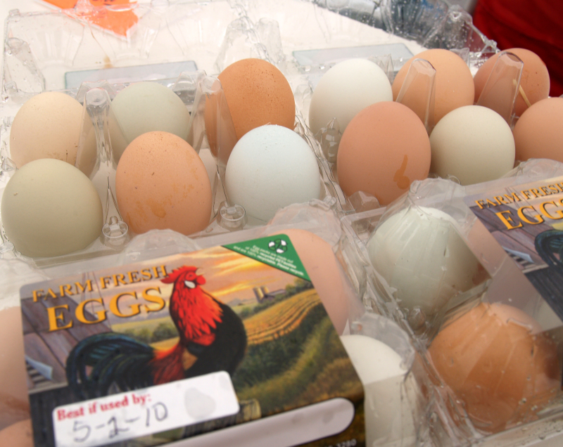 HCM-Farmer's Market - Farm Fresh Eggs