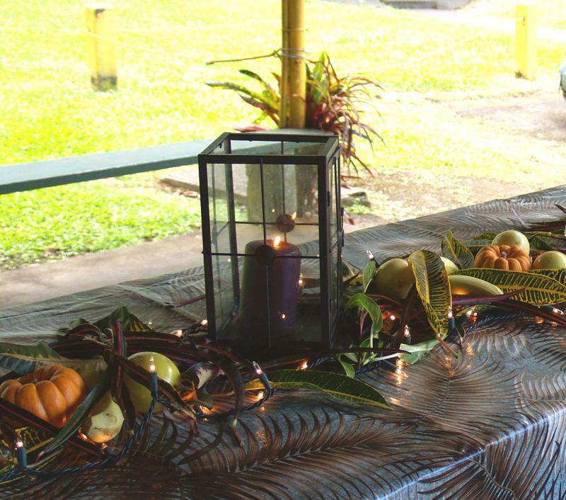 Thanksgiving - table detail 3