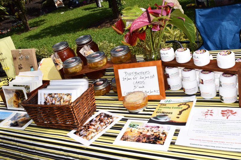 Honey Fest 2014 - honey display 2