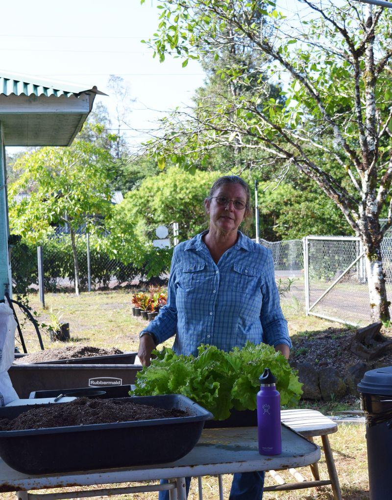 Gardening - Donna