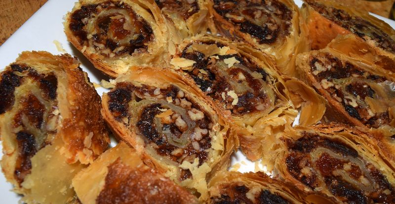 Dried fruit and nuts baklava 2-a