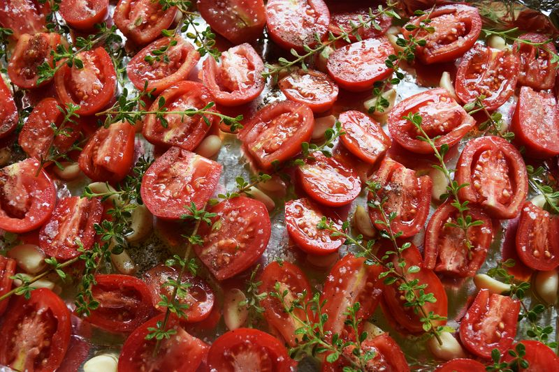 Tomatoes - slow roasting 1 sm