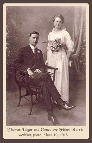 Fisher-Harris Wedding