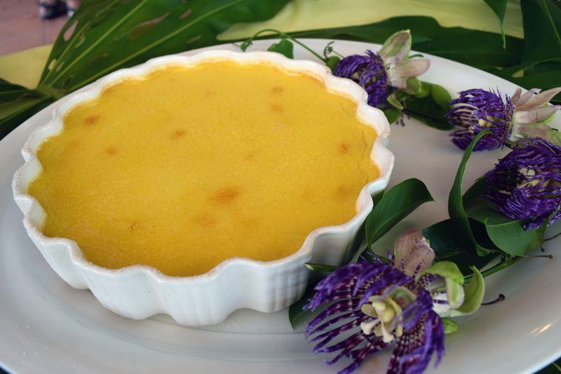 Lilikoi Fest 14 - Dessert - Lilikoi Creme Brulee 2