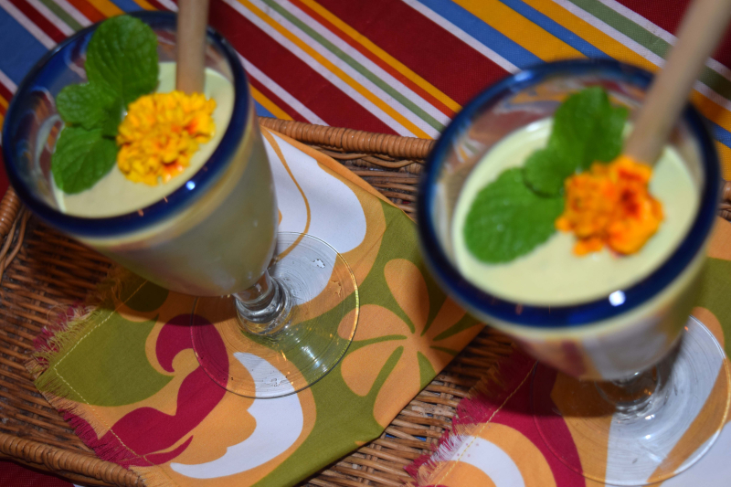 Soups - Chilled Cream of Avo 3