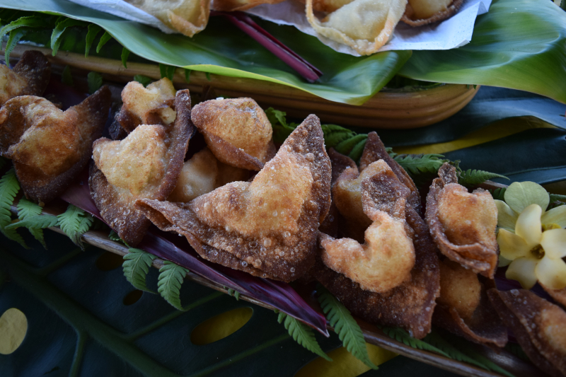 Spicy 'Ahi & Cream Cheese Wontons - Michelle Richter